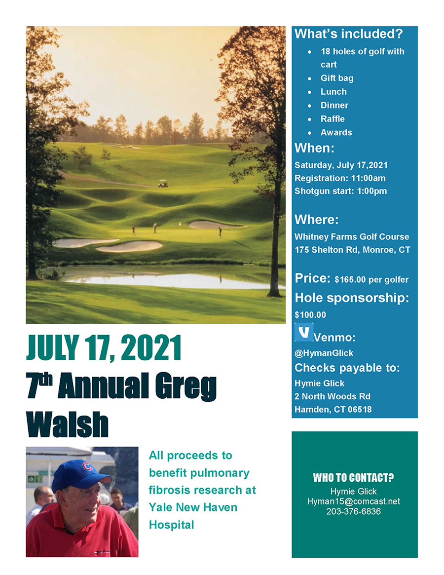 Seventh Annual Greg Walsh Golf Outing @ Whitney Farms Golf Club | Hamden | Connecticut | United States