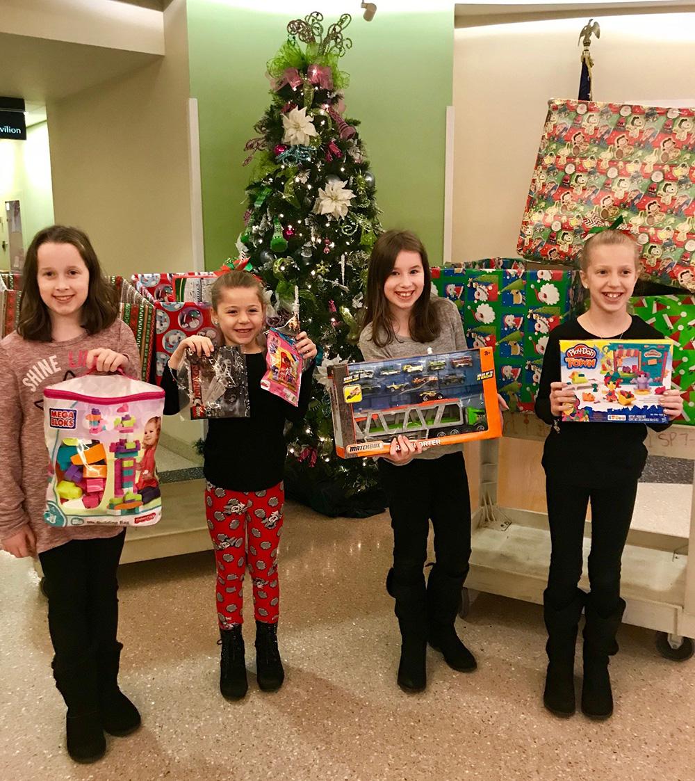 The Hogan's Holiday Donation