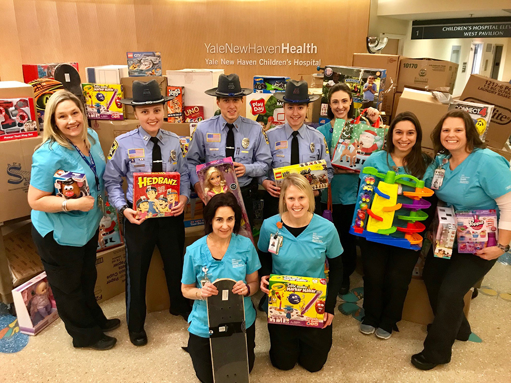 Connecticut State Trooper Holiday Donation