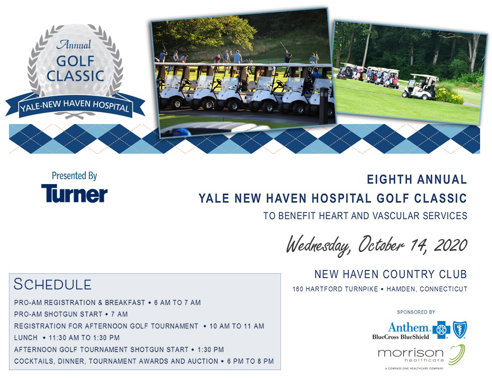 YNHH Golf Classic 2020 @ New Haven Country Club | Hamden | Connecticut | United States